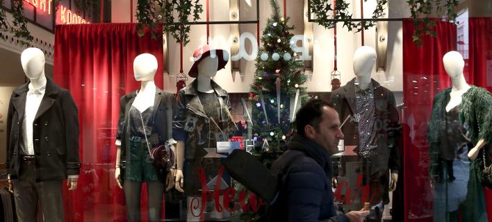 Φωτογραφία: INTIME/ Ανοιχτά σήμερα τα καταστήματα για τις τελευταίες αγορές πριν τα Χριστούγεννα