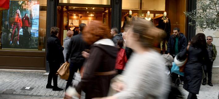 Ανοιχτά θα είναι τα καταστήματα την Κυριακή. Φωτογραφία: Eurokinissi
