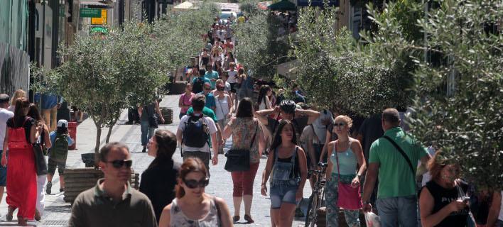 Κίνηση στα καταστήματα/Φωτογραφία: Eurokinissi