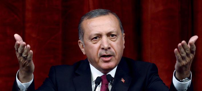 Ερντογάν/Φωτογραφία: AP