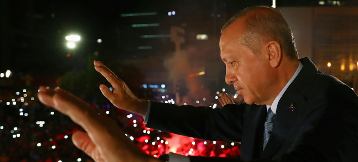 O Ταγίπ Ερντογάν/ Φωτογραφία AP images