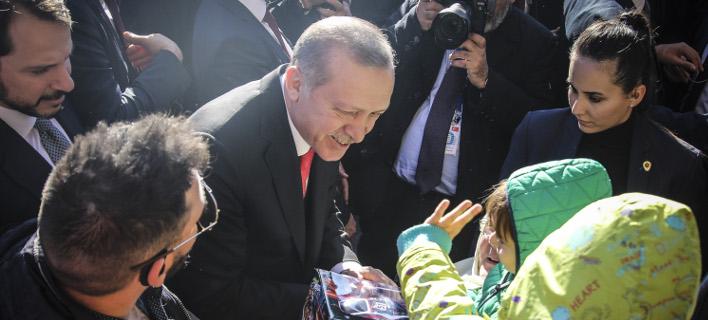 Ταγίπ Ερντογάν/ Φωτογραφία αρχείου eurokinissi