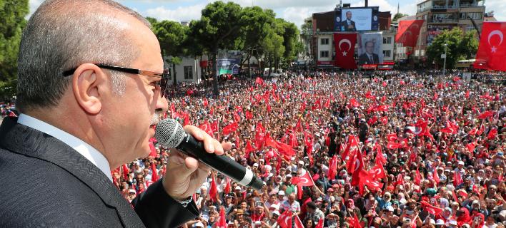 Ρετζέπ Ταγίπ Ερντογάν (Φωτογραφία: Presidential Press Service via AP, Pool)