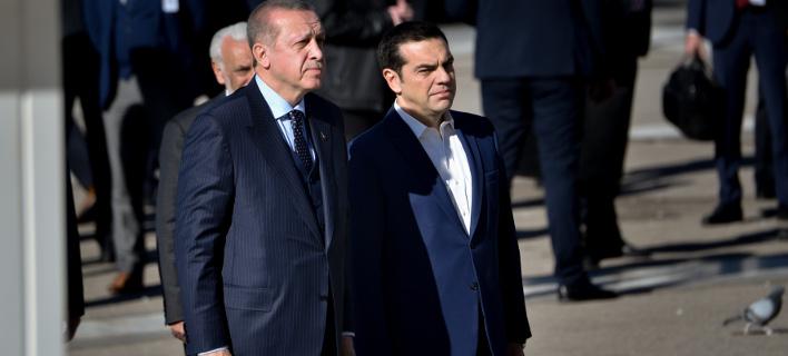 Τσίπρας-Ερντογάν/Φωτογραφία: IntimeNews/ΧΑΛΚΙΟΠΟΥΛΟΣ ΝΙΚΟΣ