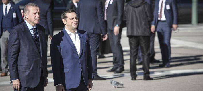 Τσίπρας σε Ερντογάν: Καλώς ήρθατε, κύριε πρόεδρε, έχουμε πολλά να συζητήσουμε