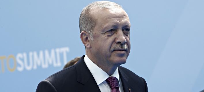 Ο Τούρκος πρόεδρος, Ταγίπ Ερντογάν/Φωτογραφία αρχείου: Sooc