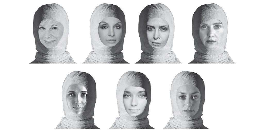 Σημαντικές Ελληνίδες ηθοποιοί ερμηνεύουν τις 7 ηρωίδες του Ευριπίδη. Άννα Φόνσου, Άντζελα Γκερέκου, Κατερίνα Διδασκάλου,Θεοδώρα Τζήμου, Βασιλική Τρουφάκου, Κατερίνα Μισιχρόνη, Μυρτώ Γκόνη