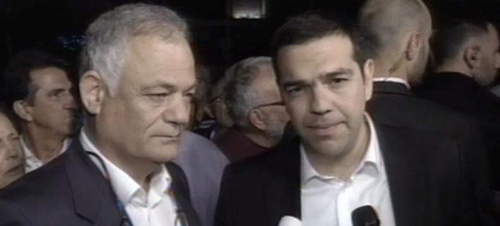 Τσίπρας από την ΕΡΤ:  Είναι μια ιστορική μέρα για το λαό – Την θέλουμε δημόσια και όχι κρατική