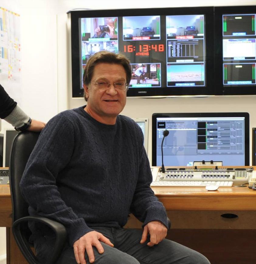 O γενικός διευθυντής τεχνολογίας της ΕΡΤ, Νίκος Μιχαλίτσης/Φωτογραφία: Facebook