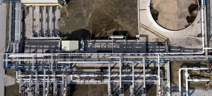 Από τις εγκαταστάσεις υγροποιημένου φυσικού αερίου της ΔΕΣΦΑ στη Ρεβυθούσα