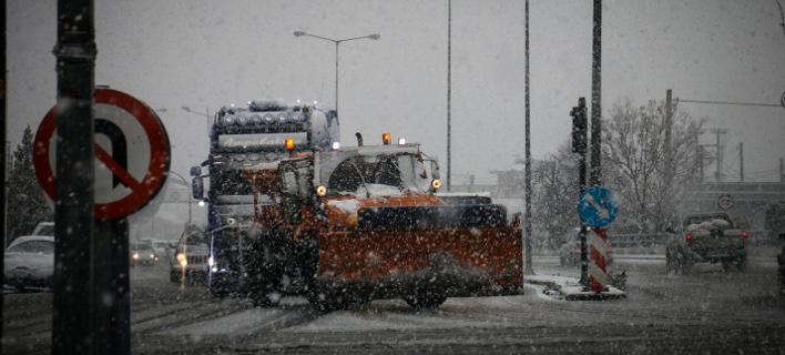 Χιόνι, EUROKINISSI / ΜΠΟΥΡΛΗΣ ΝΤΙΝΟΣ