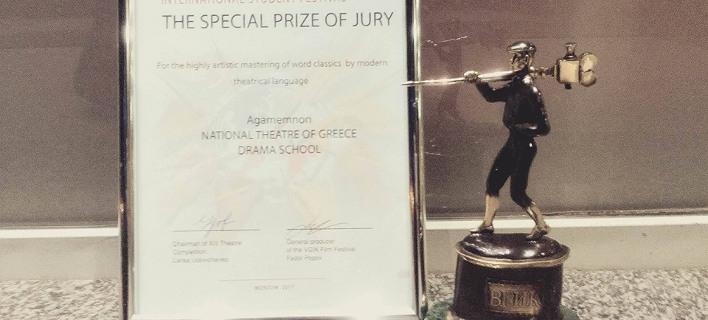 Η παράσταση «Οιδίποδας» του Εθνικού υποψήφια για το Κρατικό θεατρικό Βραβείο της Ρωσίας