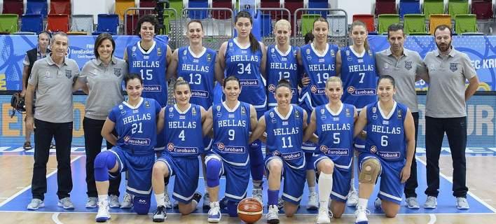 Eurobasket γυναικών: Ηττα της Εθνικής (56-59) από την Σλοβενία