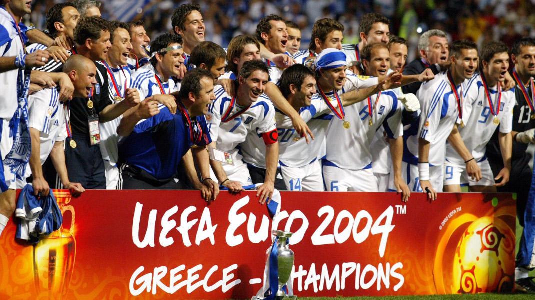 Euro 2004: Σαν σήμερα, 14 χρόνια πριν η Ελλάδα ζούσε τον μύθο της -Φωτογραφία: EUROKINISSI