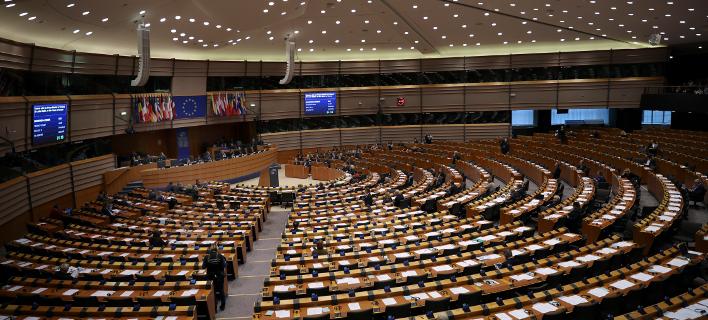 δημοσκόπηση για ευρωεκλογές/Φωτογραφία: AP
