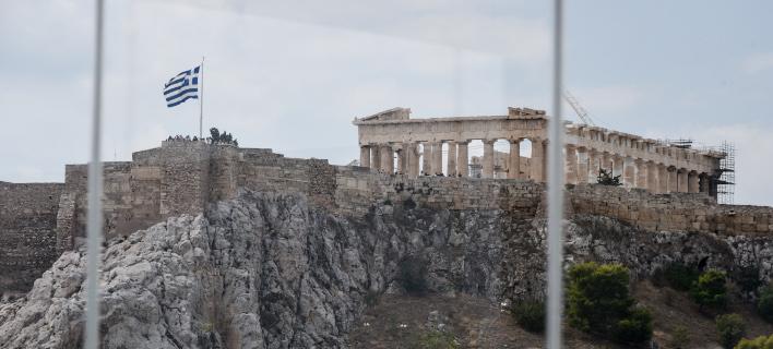 Tελευταία μαζί με τη Δανία η Ελλάδα σε ρυθμό ανάπτυξης του ΑΕΠ το γ' τρίμηνο/ Φωτογραφία: Eurokinissi