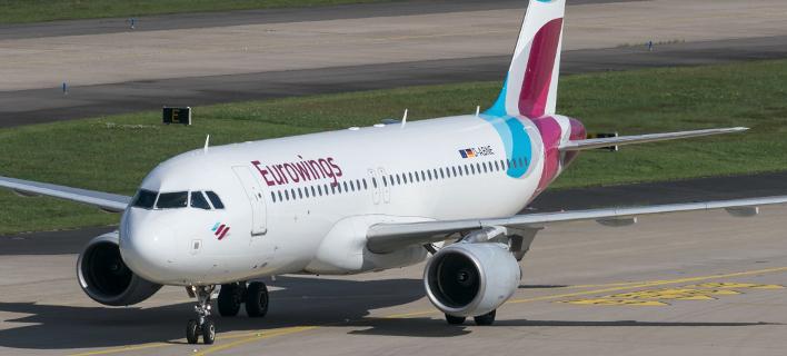 Αεροπλάνο της εταιρίας Eurowings