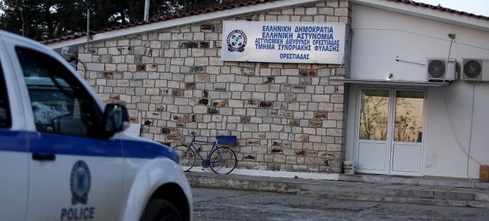 περιπολικό στον Εβρο/Φωτογραφία: IntimeNews