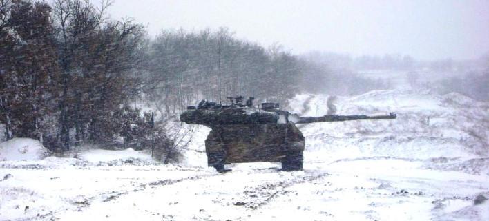 Απόβαση στα χιόνια έκανε ο ελληνικός στρατός στον Εβρο -Εντυπωσιακή άσκηση [εικόνες]