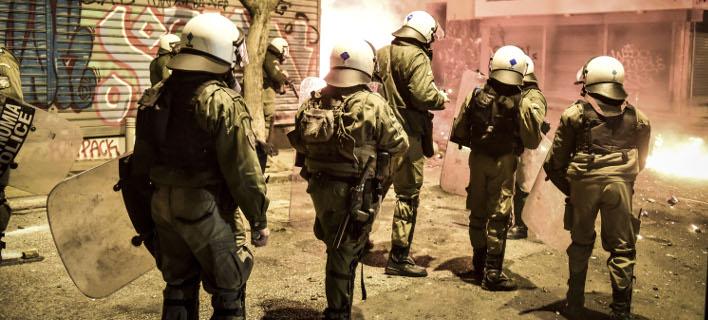 ΜΑΤ στα Εξάρχεια/ Φωτογραφία: Eurokinissi