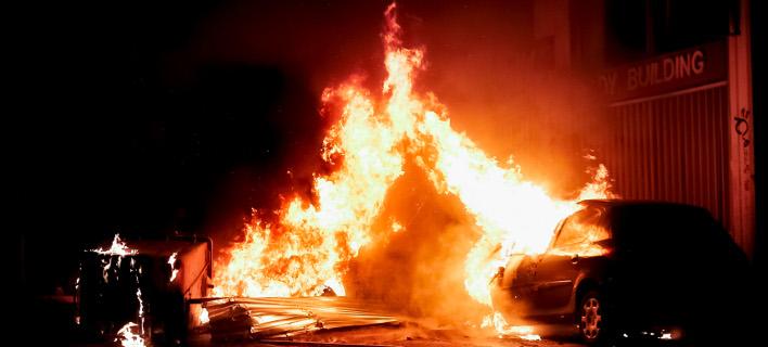 Φωτιές στα Εξάρχεια, επεισόδια / Φωτογραφία: Intimenews/ΚΑΠΑΝΤΑΗΣ ΔΗΜΗΤΡΗΣ