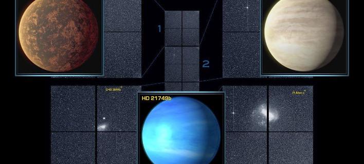 Οι τρεις εξωπλανήτες του TESS / Φωτογραφία: Facebook
