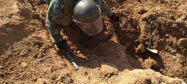 Σήμερα η επιχείρηση για τη βόμβα στην Ελευσίνα/ Φωτογραφία αρχείου: EUROKINISSI/ΓΕΣ