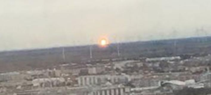 Έκρηξη σε τερματικό σταθμό φυσικού αερίου στην Αυστρία (Φωτογραφία: mirror.co.uk)