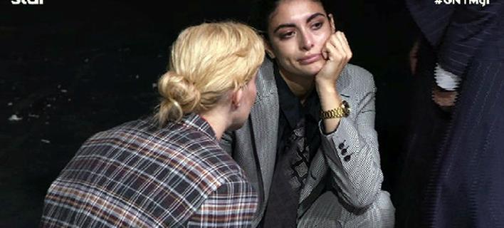GNTM: Εβαλε τα κλάματα η Εύη -Εχει μείνει ολομόναχη