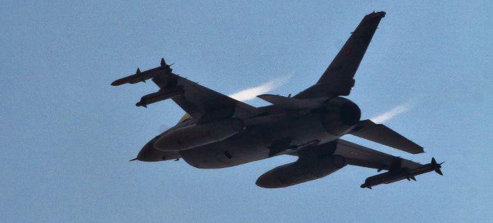 Τουρκικό μαχητικό F-16 / Φωτογραφία: AP