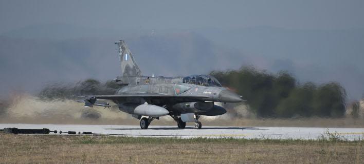 Συμφωνία για την αναβάθμιση των F-16 (Φωτογραφία: Γ.Τ. ΠΡΩΘΥΠΟΥΡΓΟΥ/ ANDREA BONETTI)