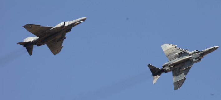 Τα τουρκικά αεροσκάφη αναχαιτίστηκαν -Φωτογραφία αρχείου: EUROKINISSI/ ΠΑΝΑΓΟΠΟΥΛΟΣ ΓΙΑΝΝΗΣ)