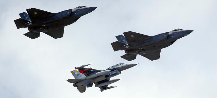 F-35 (Φωτο αρχείου: ΑΡ)