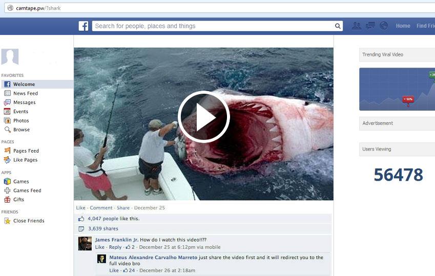 Νέος ιός με τη μορφή φαντάσματος στο Facebook -Δείτε τα βίντεο που δεν πρέπει να ανοίξετε [εικόνες]