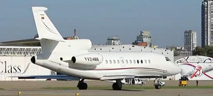 Αυτό είναι το κυβερνητικό αεροσκάφος της Βενεζουέλας που ήρθε στην Αθήνα