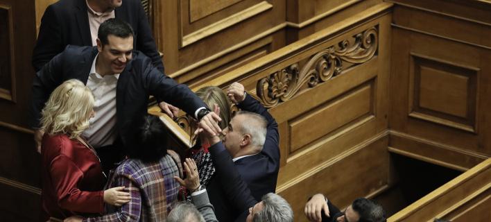 ψήφος εμπιστοσύνης στην κυβέρνηση/Φωτογραφία: intimenews