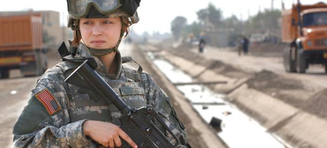 Να πάνε στην πρώτη γραμμή του πολέμου ζητούν τέσσερις Αμερικανίδες