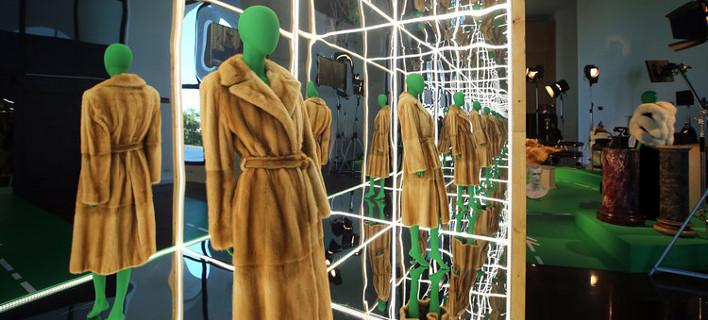 Διαδραστηκή εμπειρία, φωτογραφίες fendi.com