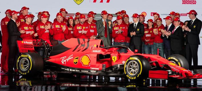 Formula 1: Αποκαλυπτήρια της Ferrari για τη νέα SF90