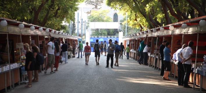 Φεστιβάλ βιβλίου στο Ζάππειο (Φωτογραφία: Eurokinissi-ΖΩΝΤΑΝΟΣ ΑΛΕΞΑΝΔΡΟΣ)
