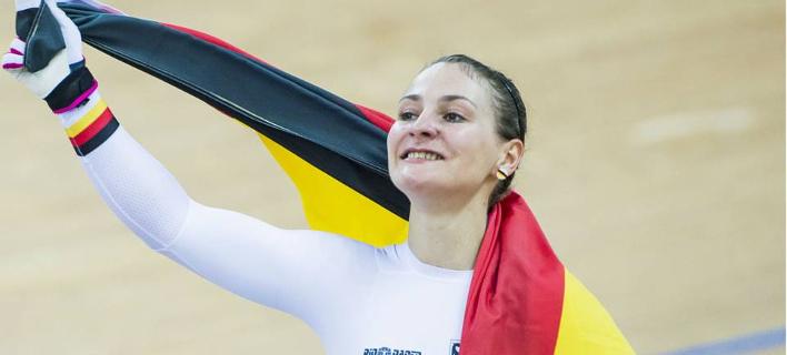 Η Γερμανίδα Ολυμπιονίκης Κριστίνα Φόγκελ
