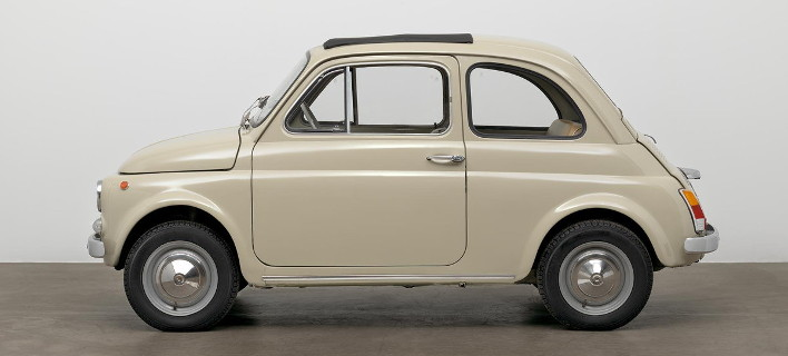 Fiat 500: Στο Μουσείο Μοντέρνας Τέχνης της Νέας Υόρκης