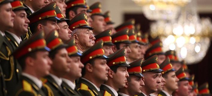 Η επίσημη στρατιωτική χορωδία των ρωσικών ένοπλων δυνάμεων