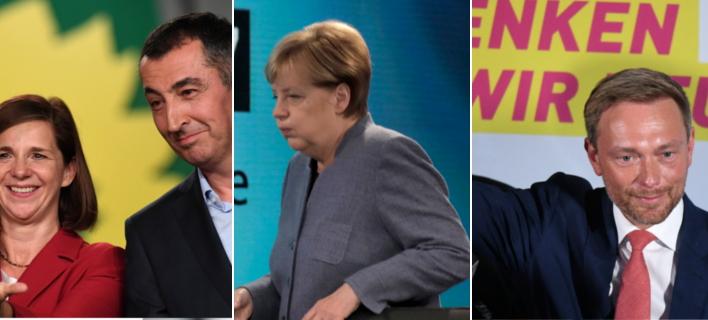 Προς κυβέρνηση «Τζαμάικα» στη Γερμανία: Ναι σε συζήτηση για συμμετοχή στο συνασπισμό από Πράσινους και Φιλελεύθερους