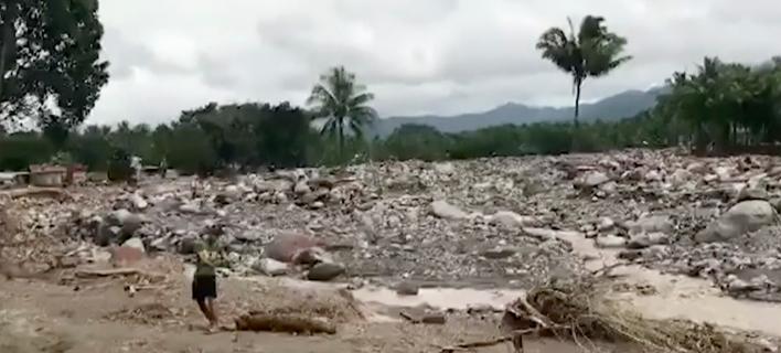 Στους 240 οι νεκροί στις Φιλιππίνες από την τροπική καταιγίδα, Τερμπίν (Φωτογραφία: AP)