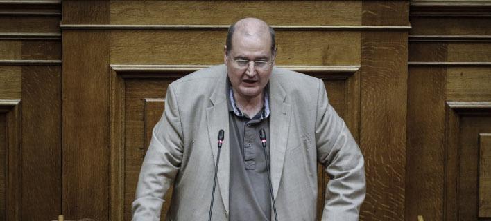 Ο Νίκος Φίλης (EUROKINISSI/ΓΙΩΡΓΟΣ ΚΟΝΤΑΡΙΝΗΣ)