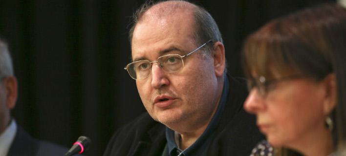 Ο βουλευτής του Σύρικζα και πρώην υπουργός Παιδείας Νίκος Φίλης, φωτογραφία intimenews