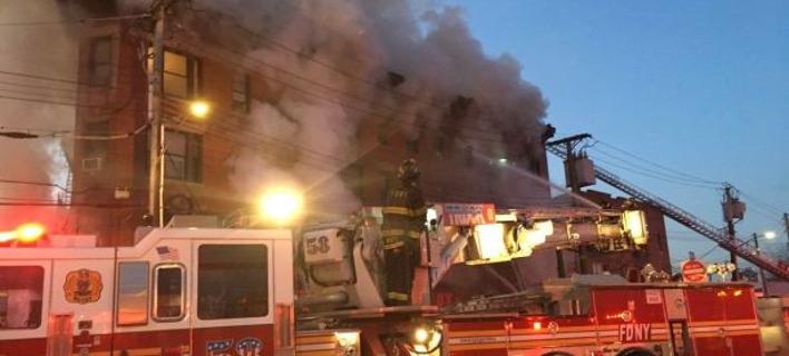 Φωτογραφία: Πυροσβεστική Υπηρεσία Νέας Υόρκης