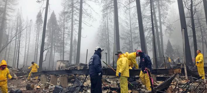 πυρκαγιές στην Καλιφόρνια/Φωτογραφία: AP
