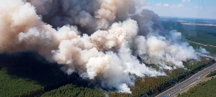 Φωτιά Γερμανία/ Φωτογραφία AP images